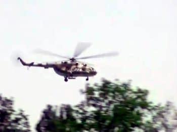 Украинские силовики нанесли авиаудар по боевикам на территории донецкого аэропорта после их отказа сдаться, 26.05.2014