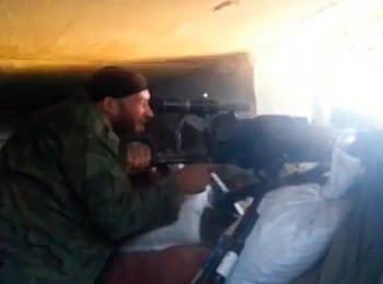 «Мирні» бойовики обстрілюють позиції українських військових у Слов'нську