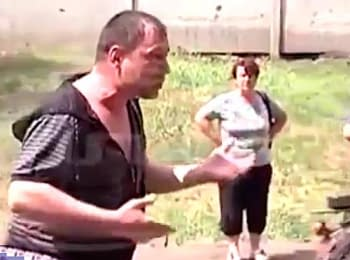 Sloviansk residents outraged by the actions of militants (May 27, 2014)