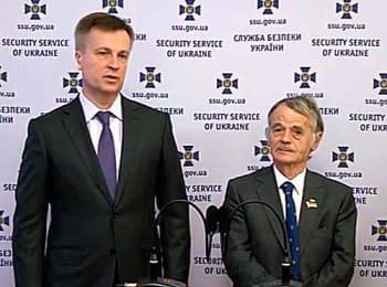 СБУ передала Джемільову архівні документи щодо репресій проти кримських татар, 29.05.2014
