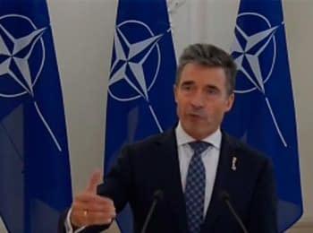НАТО вимагає повного відведення російських військ від кордону України