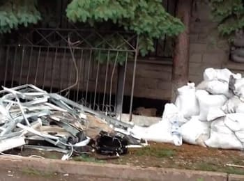 In Thorez of Donets'k region the local office of Security Service was blown up, on June 1, 2014