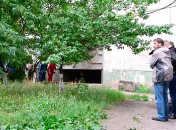 Video footage from a battlefields in Luhans'k, on June 2, 2014