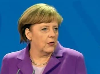 Саммит по энергетической безопасности: Меркель и Яценюк, 29.05.2014