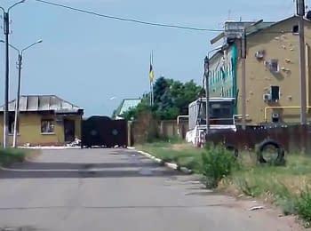 Погранзастава в Луганске в ожидании нового штурма боевиков, 03.06.2014