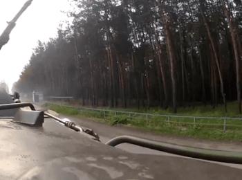 Military cameraman videotaped attack of gunmen. Krasny Lyman, on June 3, 2014