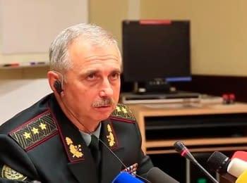 Министр обороны Михаил Коваль заявил, что штурма погранотряда в Луганске не было - только обстріл