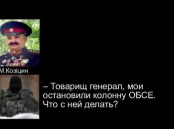 К похищению наблюдателей ОБСЕ причастны «русские казаки» - СБУ