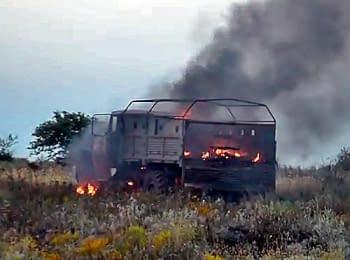 Пункт пропуску «Маринівка» після бою, 05.06.2014