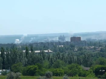 In Slovyans'k continues anti-terrorist operation, on June 6, 2014