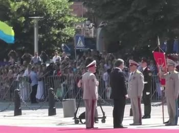 Inauguration of the President of Ukraine. Seen by the eyewitness, on June 7, 2014