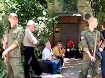 Добровольці. Донецьк, 10.06.2014