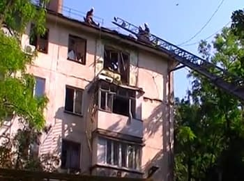 In Mykolaiv occurred explosion in a dwelling house, on June 9, 2014