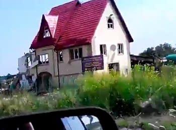 Village of Semenivka near Slovyans'k Donets'k region, on June 9, 2014 (18+ Explicit language)