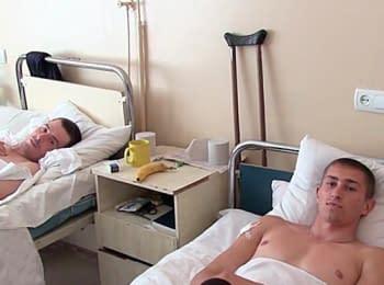 Поранених під час АТО привезли у Львів, 10.06.2014