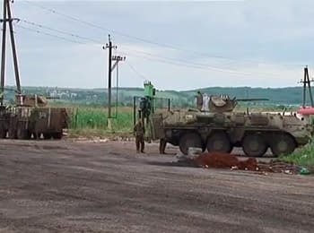 Gunmen don't know, why they are fighting - the Ukrainian soldier at a checkpoint near Slovyans'k