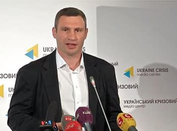 Vitali Klitschko reported about the first steps as mayor of Kyiv