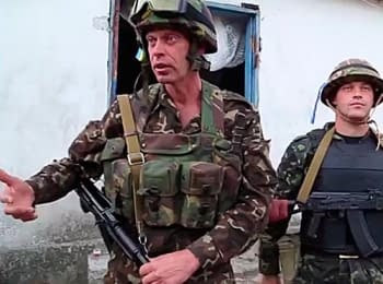 Battalion «Aydar» waits for the order to free the Ukrainian cities