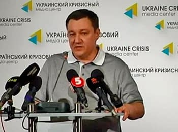 Tymchuk: With terrorists it is difficult to hold negotiations about hostages