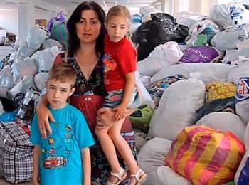 Inhabitants continue to flee the city Slovyans'k