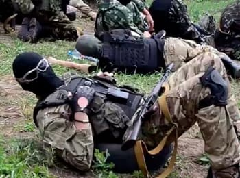 Soldiers of the battalion «Azov» require from the government of resolute orders