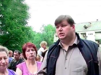 Рабочая группа МВД в Святогорске