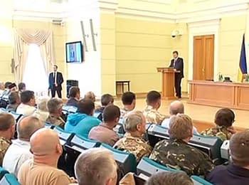 Poroshenko met with activists of the Maydan, on June 22, 2014
