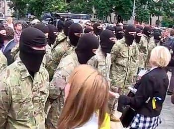 Бойцы батальона «Азов» приняли присягу, 23.06.2014