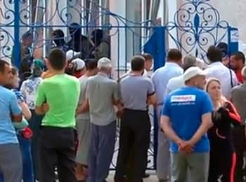В Крыму вооруженные люди захватили мусульманскую школу, 24.06.2014