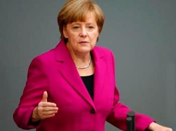 Ангела Меркель о мирном плане Порошенко и санкциях в отношении РФ, 25.06.2014
