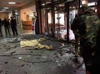 В Киеве разбили гостиницу «Турист», 26.06.2014