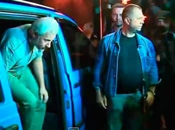Освобождение сотрудников миссии ОБСЕ, похищенных 26 мая в Донецкой области (27.06.2014)