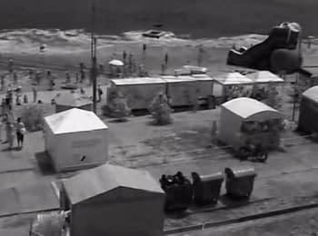 В Одесі 3-метрова хвиля змила відпочивальників з пляжу, шестеро людей постраждали, 27.06.2014