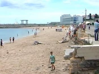 Odesa: the unexpected wave frightened vacationers (June 27, 2014)