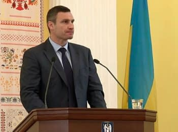 Klitschko: The main goal - in a root to change a situation in Kyiv and to overcome corruption, on June 27, 2014