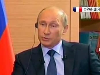 Путин: США врут о присутствии войск РФ в Украине