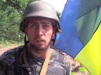 Guardsman from the destroyed checkpoint about a truce