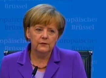 Меркель: Соглашение Украины с ЕС не заработает без согласия России (27.06.2014)