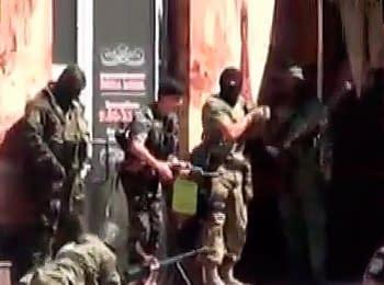Донецк: Что происходило возле здания УВД, 01.07.2014