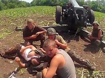 АТО: Військові лікарі надають медичну допомогу пораненому бійцю