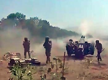 Сили АТО обстріляли бази терористів у Слов'янську, 02.07.2014