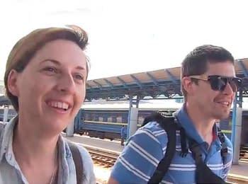 Журналісти «Громадського ТБ», які перебували у полоні бойовиків, повернулися до Києва (04.07.2014)