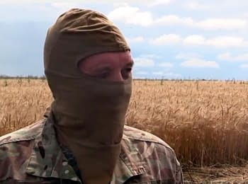 Captive from Slavyansk told about the escape from the city Hirkin (Srtelkov)