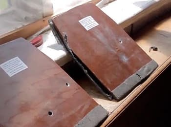 Активисты из Волыни провели независимый тест различных броне пластин