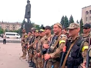 Аваков і солдати