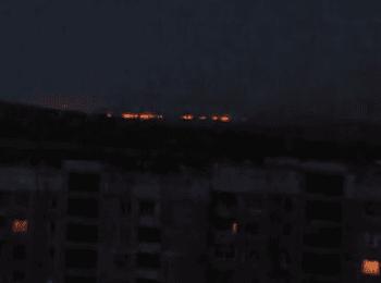 Луганск: Бой на окраине города (13.07.2014)