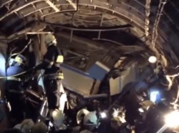 Москва: Авария в метро (15.07.2014)