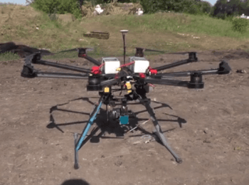 "Battalion ""Donbas"" showed the UAVs (drone aircraft)"
