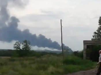 Літак Malaysia Airlines збитий в Україні поблизу російського кордону, 17.07.2014
