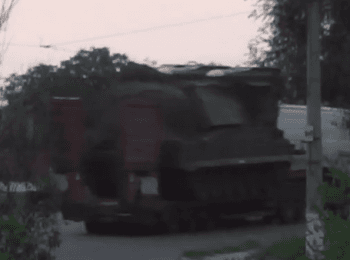 """Ministry of Internal Affairs showed video how terrorists take out the """"Buk"""" missile system on the territory of Russia"""